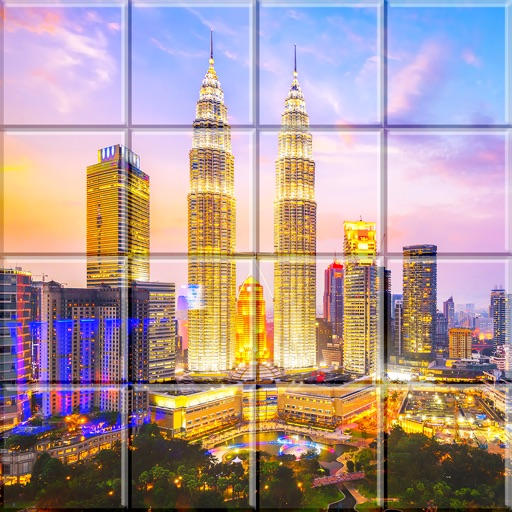 Beautiful Places In Malaysia With Description: Tile Puzzle Malaysia By MHD AMJAD ABDOULWADOOD