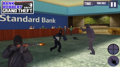 Bank Robbery 3D Police Escape-0