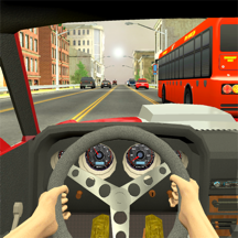 Racing in City - Traffic Driving Simulation Game