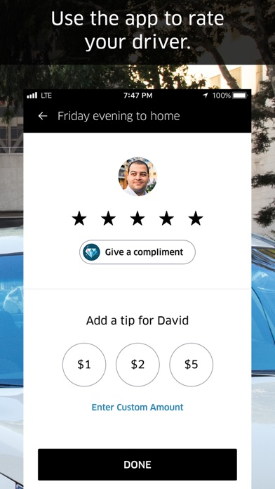 Screenshot for Uber in United States App Store