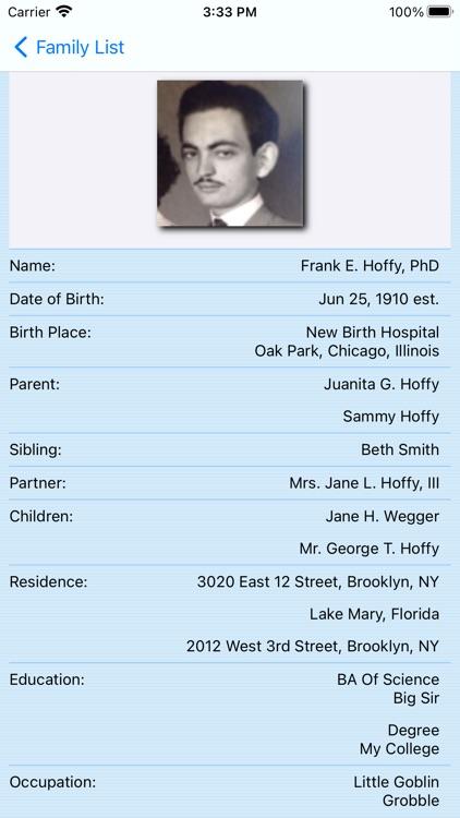 Genealogize screenshot-5