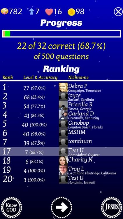Jesus Bible Trivia Challenge screenshot-4