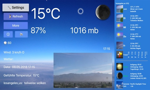TV Weather & Webcams