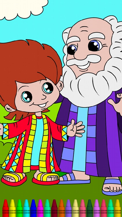 Bible Coloring Book for Kids screenshot-3