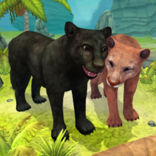 Panther Family Sim : Jungle