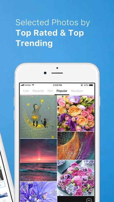 Screenshot #3 pour PhotoX Pro Top Live Wallpapers
