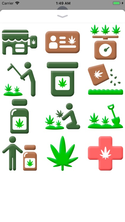 Medical Marijuana Stickers