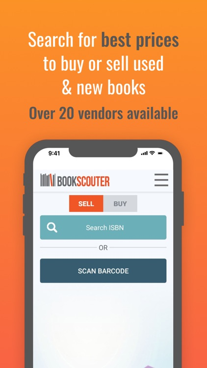 BookScouter - Sell & buy books screenshot-0