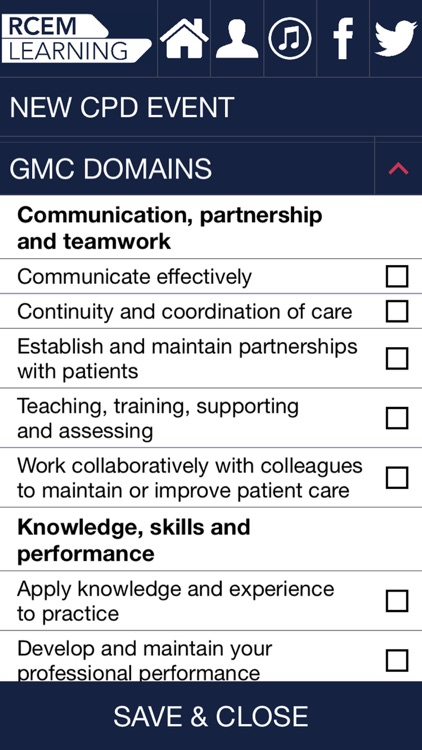 RCEMLearning CPD Diary screenshot-4