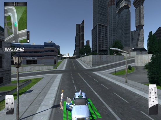 Скачать Crazy City Taxi Car Driver 3D