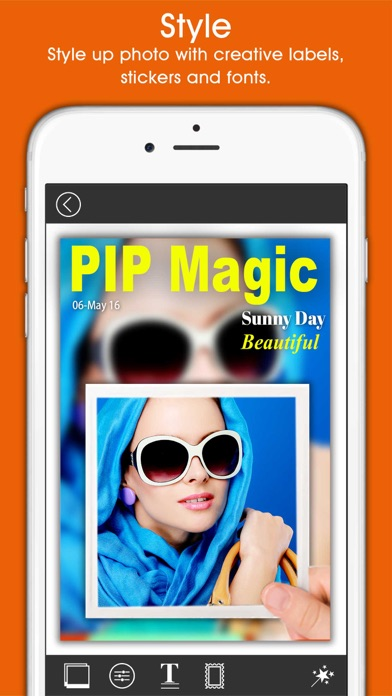 PIP Magic - Selfie Camera App by pixel force private limited