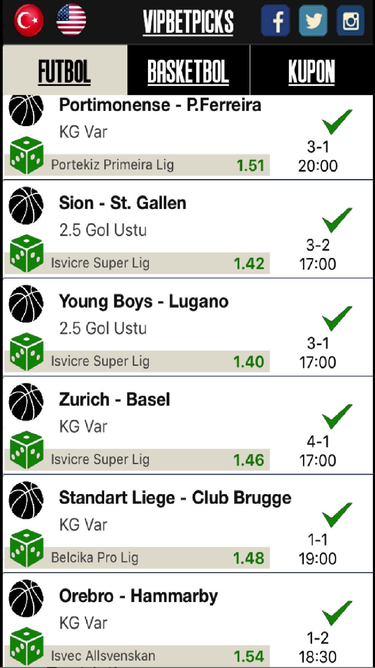 VIP BETTING PICKS - Sports Bet Screenshot