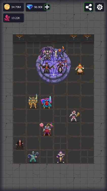 Dunidle: 8 Bit Idle RPG Games screenshot-8