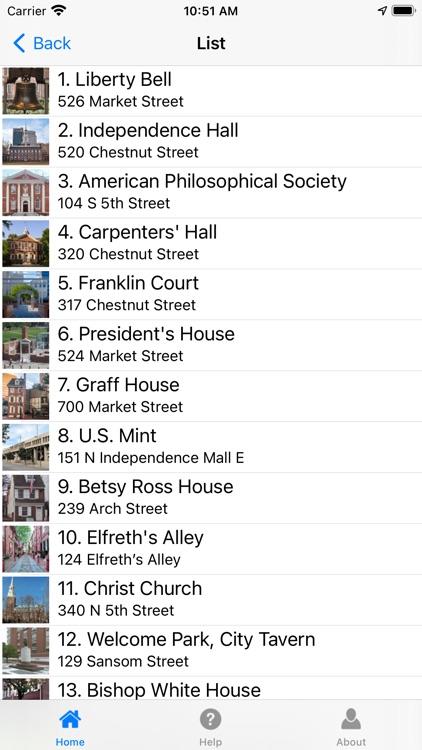 Philadelphia History Tour screenshot-4