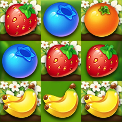 Fruit Crush- Match 3 Game