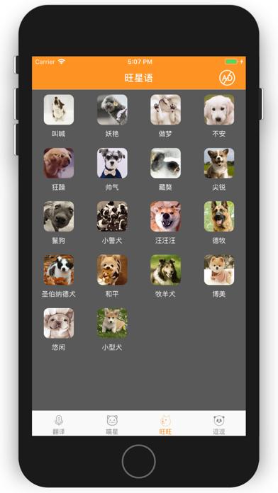 人猫狗翻译 - 人狗猫咪,动物宠物互相交流 screenshot two