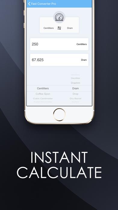 Fast Converter Pro: Units Screenshot