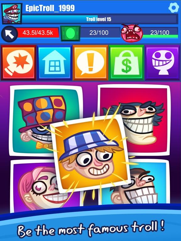 Troll Face Clicker Quest screenshot 10