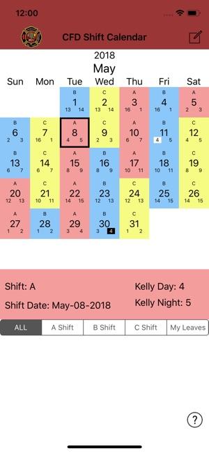 charlotte fire dept shift calendar