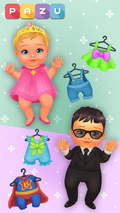 Baby care game & Dress up screenshot-6