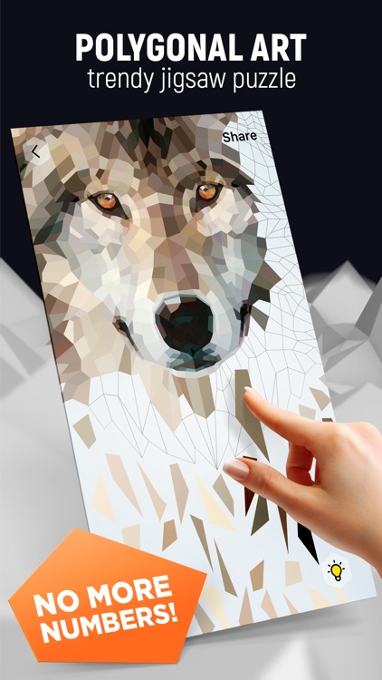 POLY ART - Coloring Puzzle screenshot-0