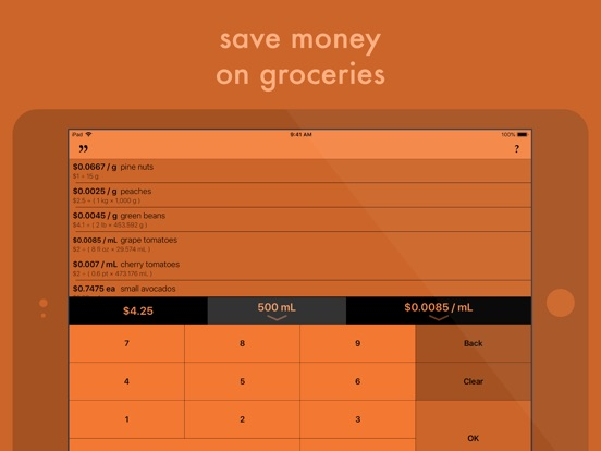 Carrot Price screenshot 2
