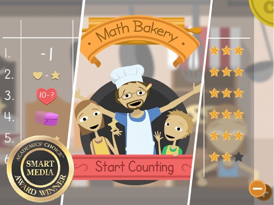 Math Bakery 1 - Start Counting Screenshots