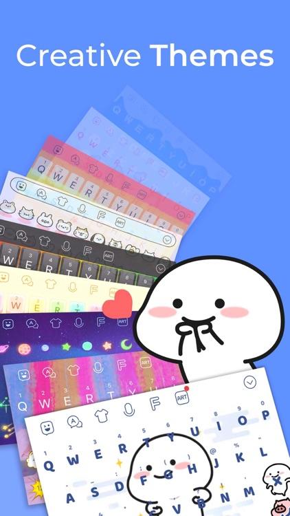 Facemoji Keyboard: Fonts&Emoji screenshot-4