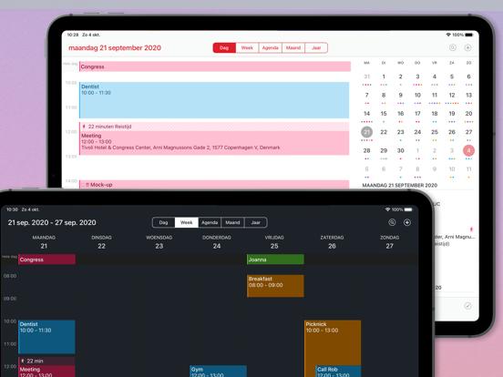 Calendar 366 iPad app afbeelding 1