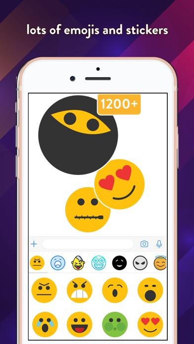 customoji - custom emojis Screenshot 1