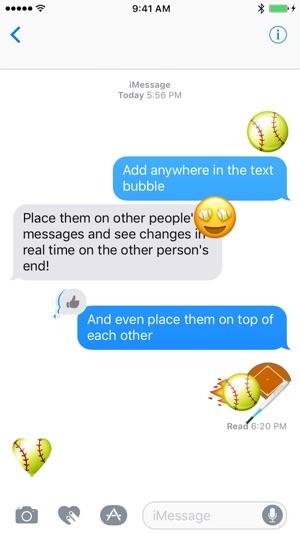 Baseball and Softball Sticker Pack