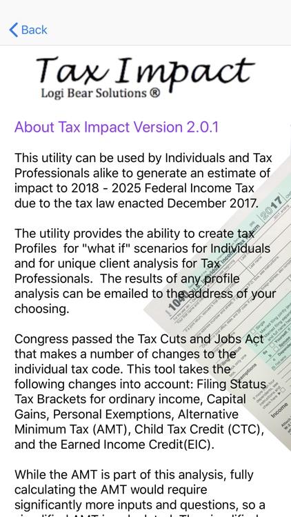 Tax Impact screenshot-5