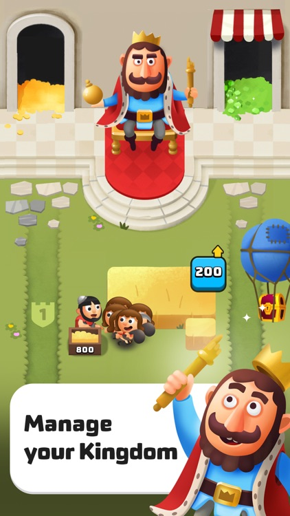 Idle King Clicker Tycoon Games screenshot-0