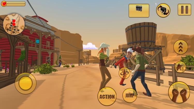 Western Cowboy Gang Shooting