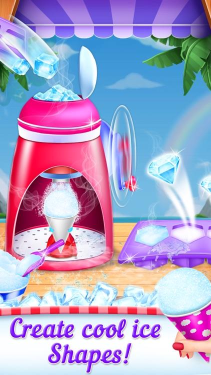 Snow Cone Maker Game screenshot-3