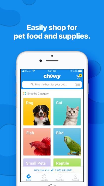 Chewy - Where Pet Lovers Shop screenshot-0