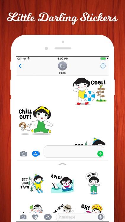 Little Darling Emojis screenshot-3