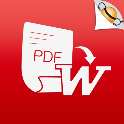 PDF から Word