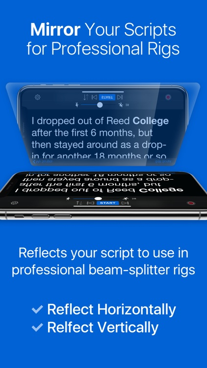 Teleprompter Premium screenshot-2