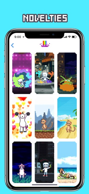 Wow Pixel Live Wallpapers On The App Store