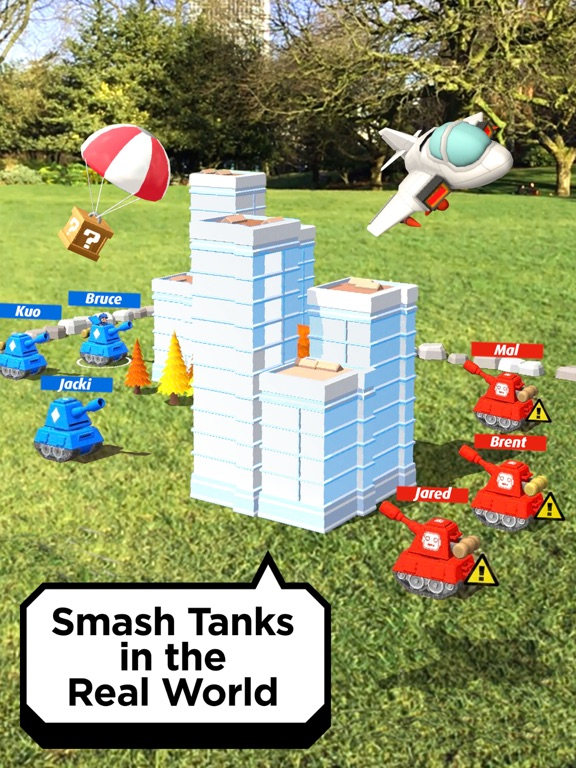 Smash Tanks! screenshot 1