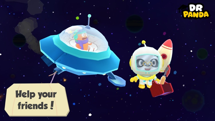 Dr. Panda Space screenshot-4