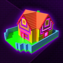 Glow House Voxel - Neon Draw