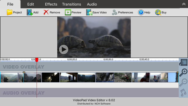 free videopad video editor review