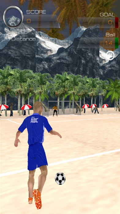 Summer Beach Footy screenshot two