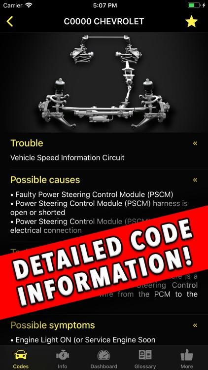 Diagnostic for Chevrolet screenshot-6