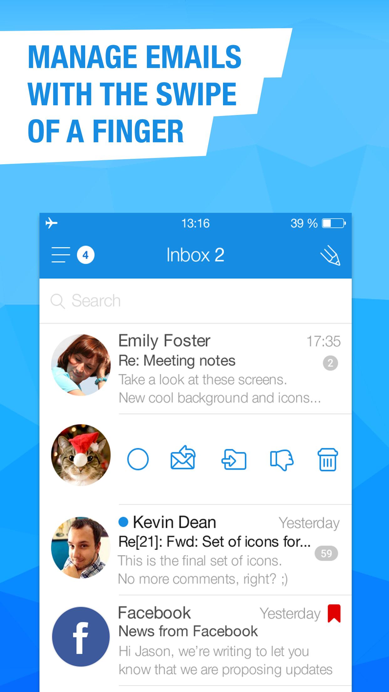 Mail.Ru – Email App Screenshot