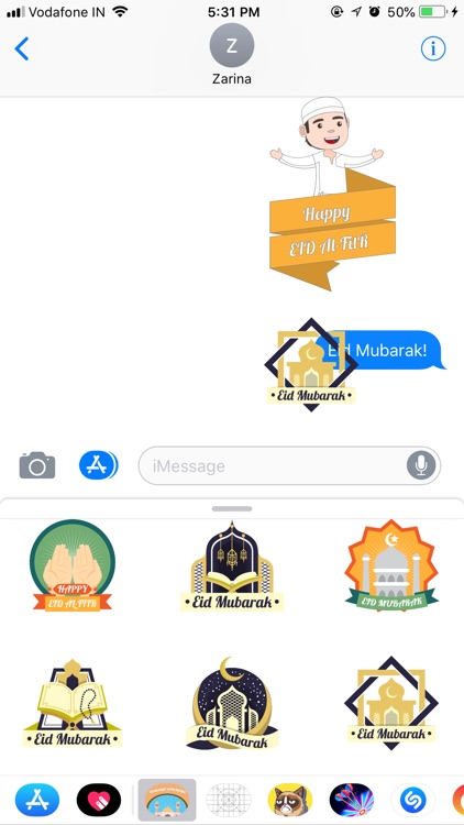 Islamic Stickers - Eid Sticker screenshot-2