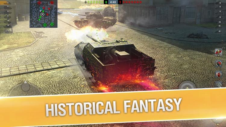 World of Tanks Blitz PVP MMO screenshot-5