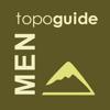 Topoguide - T ADAMAKOPOULOS - A ADAMAKOPOULOS O.E. - Menalon Trail topoguide アートワーク
